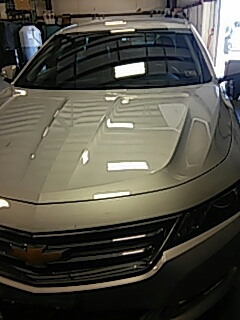 Brodheadsville, PA - Installed windshield in New Chevrolet Impala in Brodheadsville