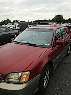 Bath, PA - Replaced windshield on Subaru Outback at Wedde's in Bath PA