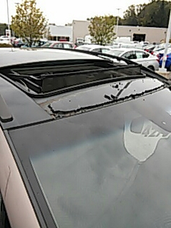 Bath, PA - Replacing roof glass on Nissan Murano at Abeloff Nissan in Bartonsville PA