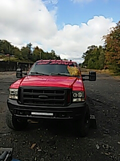 Nesquehoning, PA - Repaired chip on windshield on Ford Super Duty at Kovatch in Nesquehoning, PA