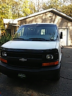Bethlehem, PA - Replaced windshield on Chevrolet Express for customer in Lehighton PA
