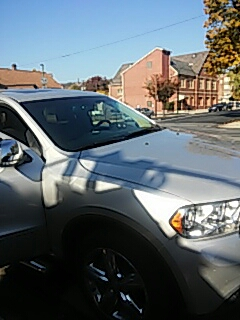 Palmerton, PA - Repaired windshield on Dodge Durango for a customer in Palmerton, PA