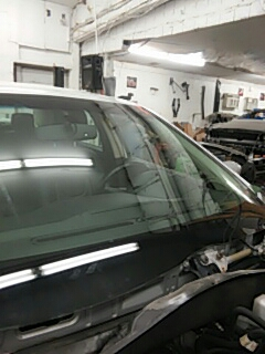 Kunkletown, PA - Replaced windshield on Ford Fusion for Syracuse Auto Body
