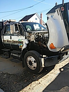 Summit Hill, PA - Replaced windshield on Ford Super Duty for Dirt Work Solutions