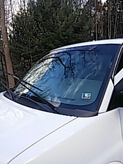Palmerton, PA - Replaced windshield on Chevrolet Express for a customer at their house