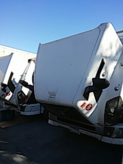Bath, PA - Replaced windshields on 2 Volvo Tractor trailers for BBK Transport