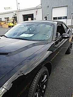 Slatington, PA - Replaced windshield on Dodge Challenger for Rentschler Dealerships