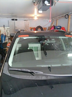 Albrightsville, PA - Replaced windshield on Toyota Rav4 for a customer at their house