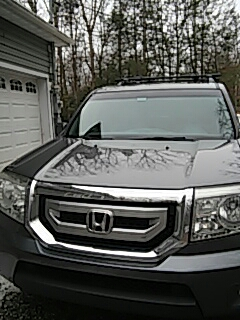 Jim Thorpe, PA - Replaced windshield on Honda Pilot for a customer at their house