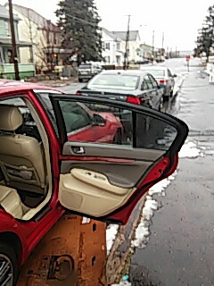 Hazleton, PA - Replaced door glass on Infinity G35