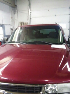 Bowmanstown, PA - Replaced windshield on Chevrolet Suburban for Hearn Enterprises