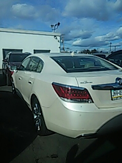 Stroudsburg, PA - Repaired leak on back glass by R&R on Buick Lacrosse for Abeloff Buick GMC