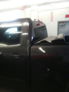 Stroudsburg, PA - Replaced back glass on GMC Sierra for Abeloff Buick GMC
