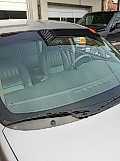 Jim Thorpe, PA - Replaced windshield on Chevrolet Impala for a customer at Bernhards Service Center