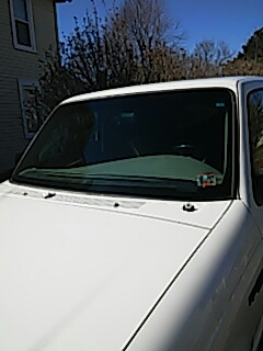 Lehighton, PA - Replaced windshield on Ford Ranger for a customer at their house