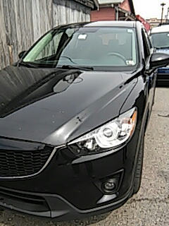 Jim Thorpe, PA - Replaced windshield on Mazda CX5 for a customer at their house