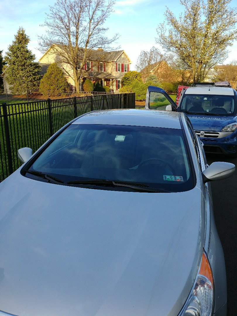 Bethlehem, PA - Replaced windshield on Hyundai Sonata