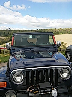 Andreas, PA - Replaced windshield on Jeep Wrangler for a customer at their work