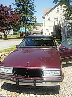 Palmerton, PA - Replaced windshield on Buick Lesabre for a customer at their house