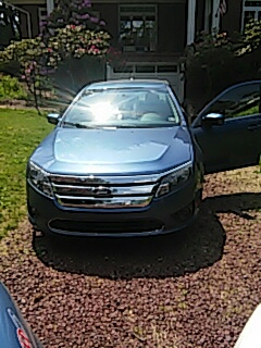 Palmerton, PA - Replaced windshield on Ford Fusion for a customer at their house