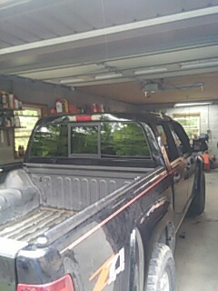 Kunkletown, PA - Replaced back glass on Chevrolet Colorado for a customer at their house