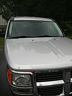 Summit Hill, PA - Replaced windshield on Dodge Nitro for a customer at their work