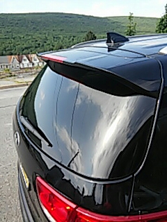 Nesquehoning, PA - Replaced back glass on Kia Sorento for a customer at their house