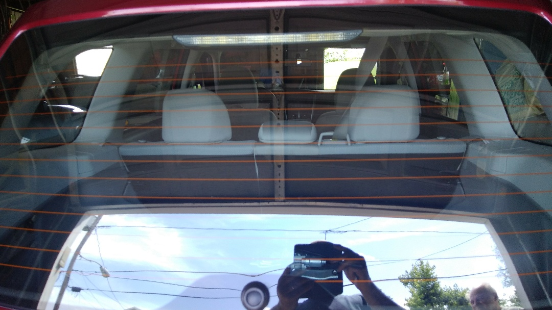 Freeland, PA - Replaced back glass for a customer at their home