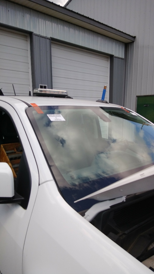 Albrightsville, PA - Replaced windshield for The Indian Mountain Lake Civic Center on a Chevy Colorado at the exact price quoted