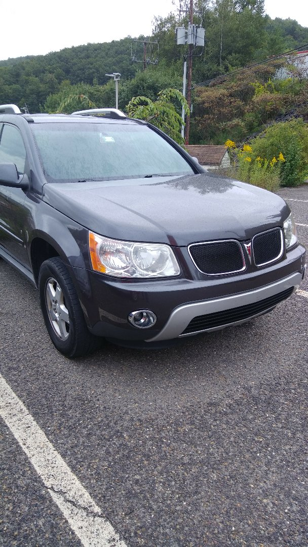 Nesquehoning, PA - Replaced windshield on Pontiac Torrent for a customer at his work for the exact price quoted