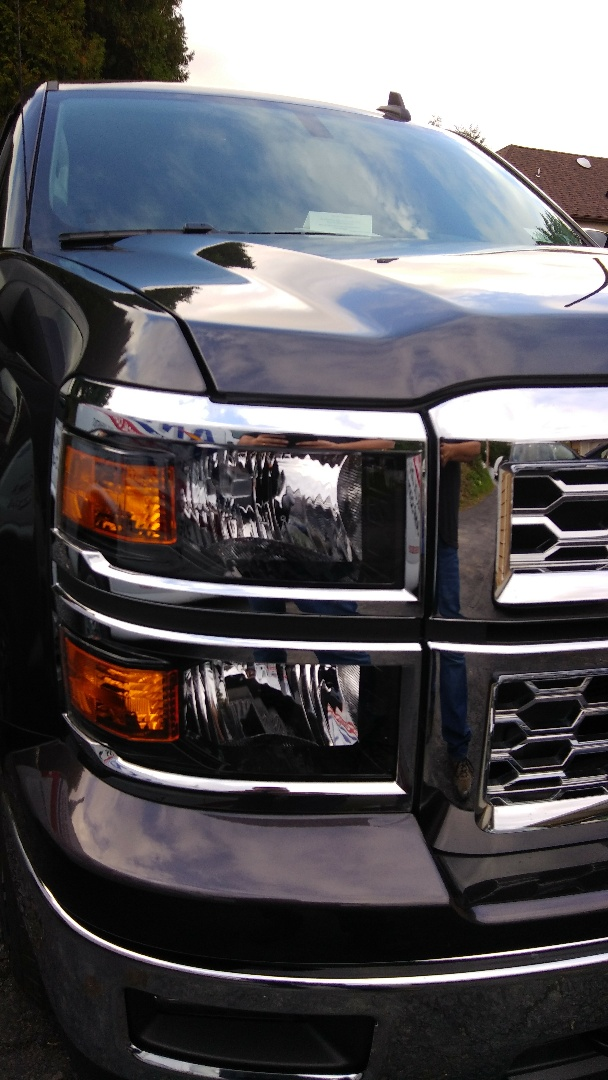 Allentown, PA - Replaced windshield for customer at his home on a Chevy Silverado for the exact price quoted