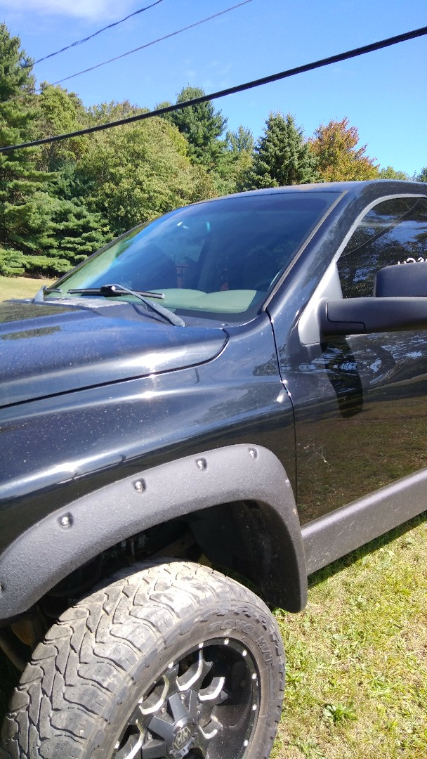 Replaced windshield on Dodge Ram pickup for the exact price quoted