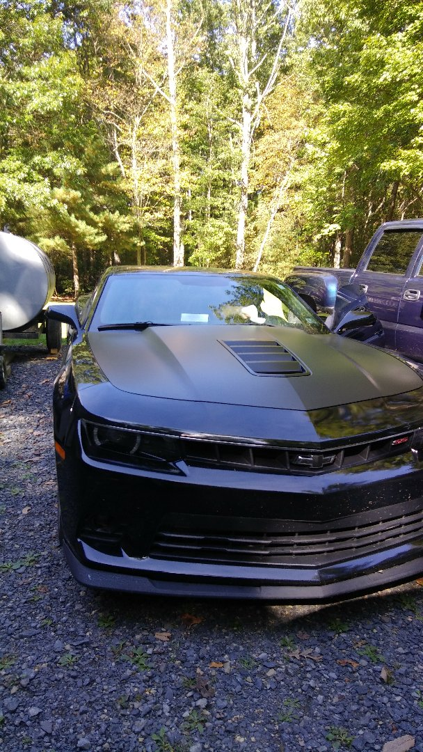 Kunkletown, PA - Replaced windshield on Chevy Camaro for a customer at their home and processed their claim with Travelers Insurance