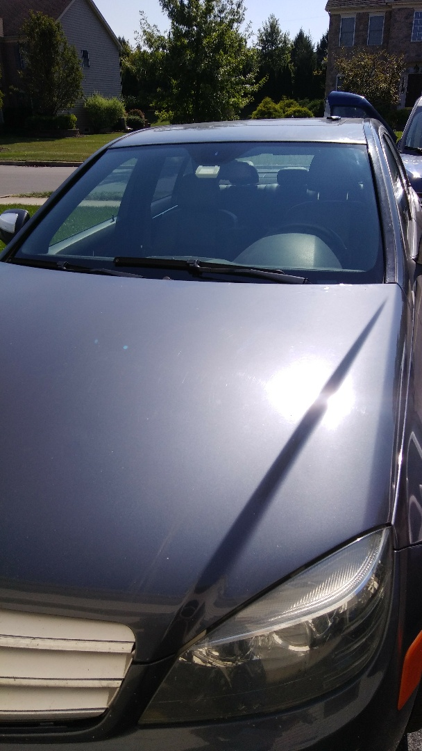 Bethlehem, PA - Replaced windshield on Mercedes Benz C300 for a customer at his home for the exact price quoted