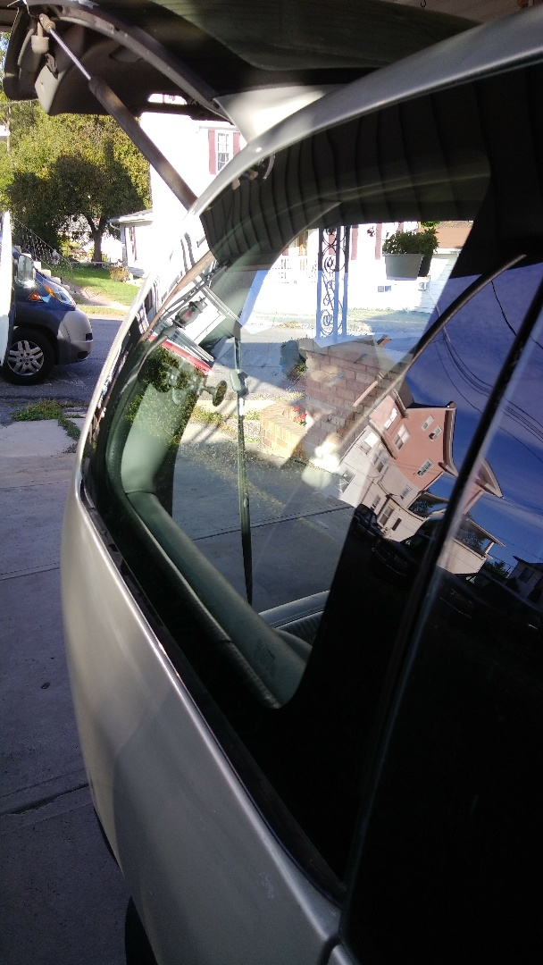 Jim Thorpe, PA - Replaced quarter glass on Dodge Caravan for a customer at her home for the exact price quoted
