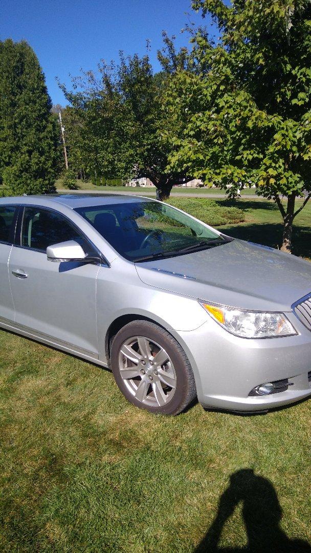 Effort, PA - Replaced windshield on Buick Lacrosse for a customer at their home for the exact price quoted