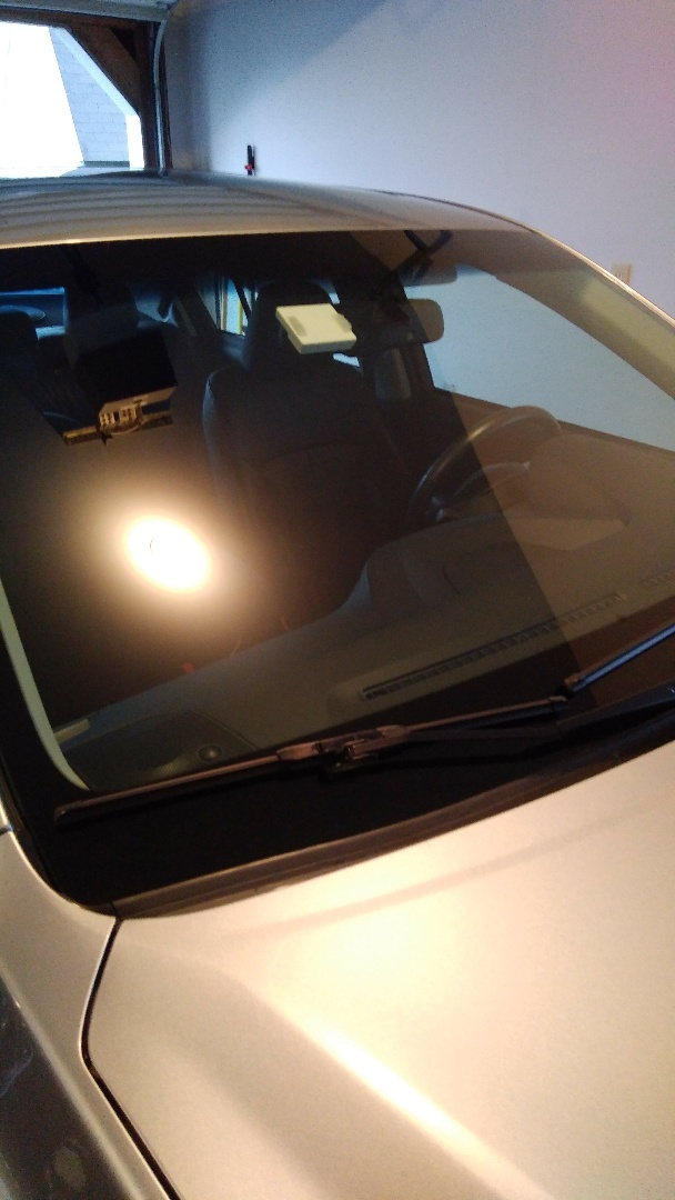 Nazareth, PA - Replaced windshield on Subaru Legacy for a customer at their home and processed the insurance through State Farm