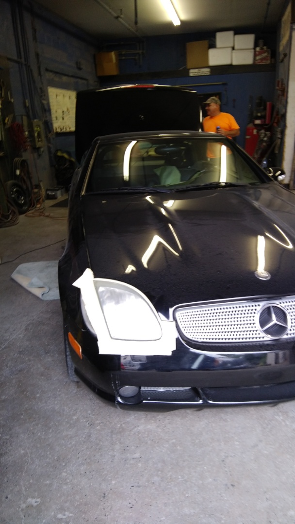 Lehighton, PA - Replaced windshield on Mercedes SLK320 for a customer at the exact price quoted