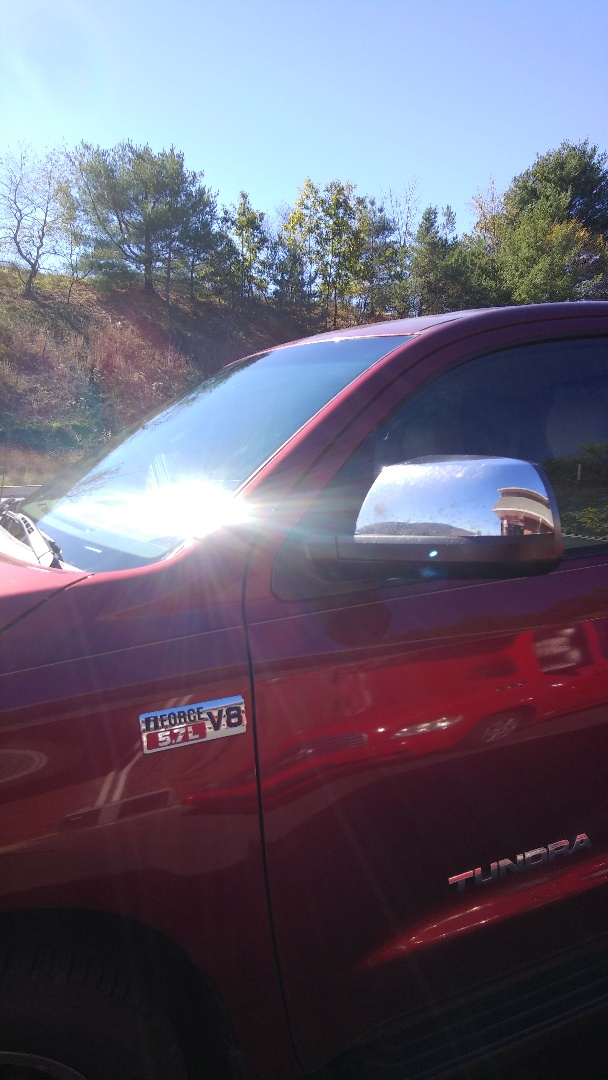 Lehighton, PA - Replaced windshield on Toyota Tundra for Stan Gravers Auto at the exact price quoted