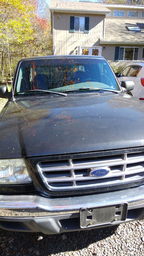 Albrightsville, PA - Replaced windshield on Ford Ranger for a customer at his home for the exact price quoted