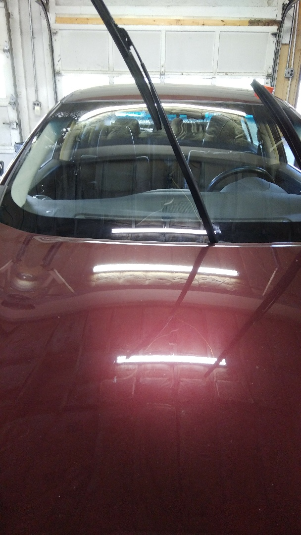 Lehighton, PA - Replaced windshield on Nissan Maxima for a customer in the shop for the exact price quoted