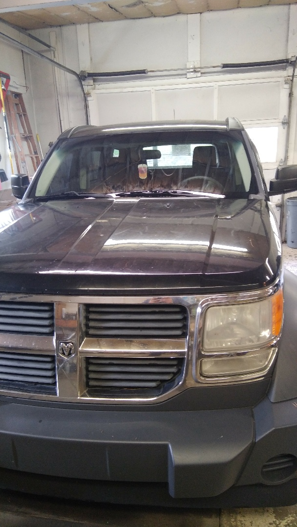 Replaced windshield on Dodge Nitro for a customer in the shop for the exact price quoted