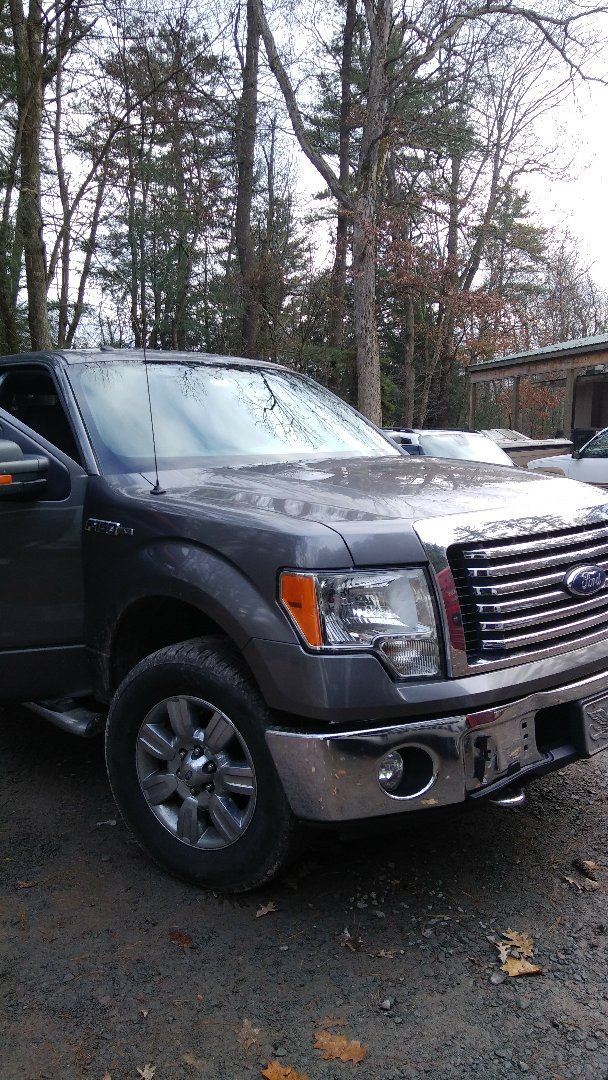 Jim Thorpe, PA - Replaced windshield on Ford F150 for Penn Forest Garage at the exact price quoted