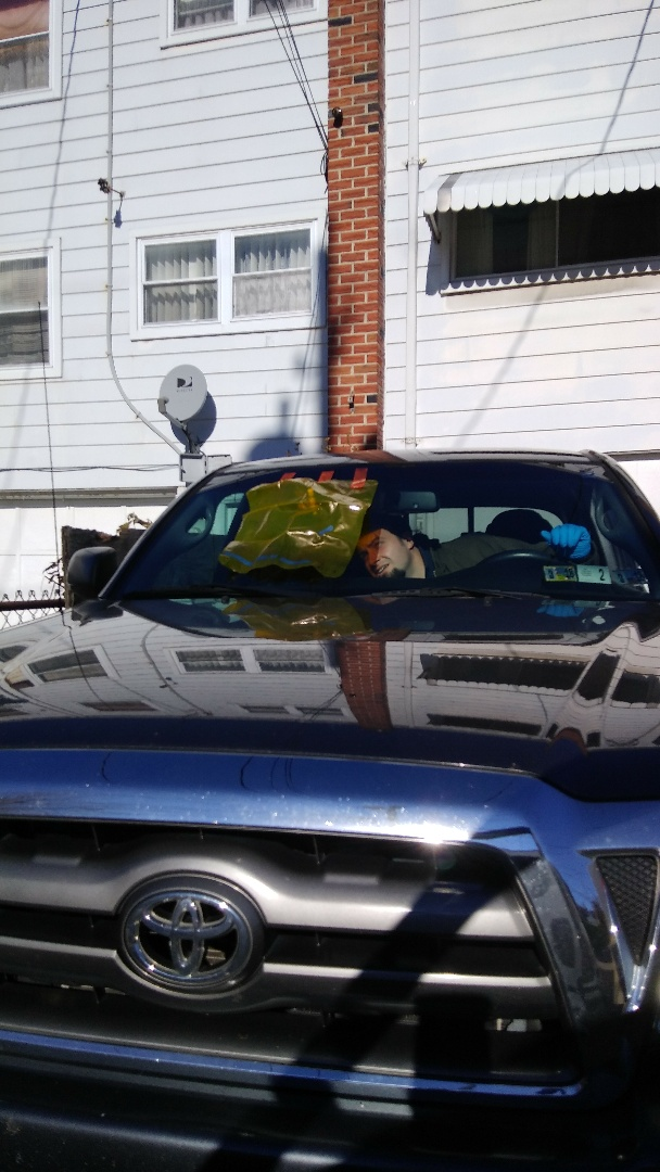 Allentown, PA - Repaired windshield on Toyota Tacoma for a customer at her home for the exact price quoted