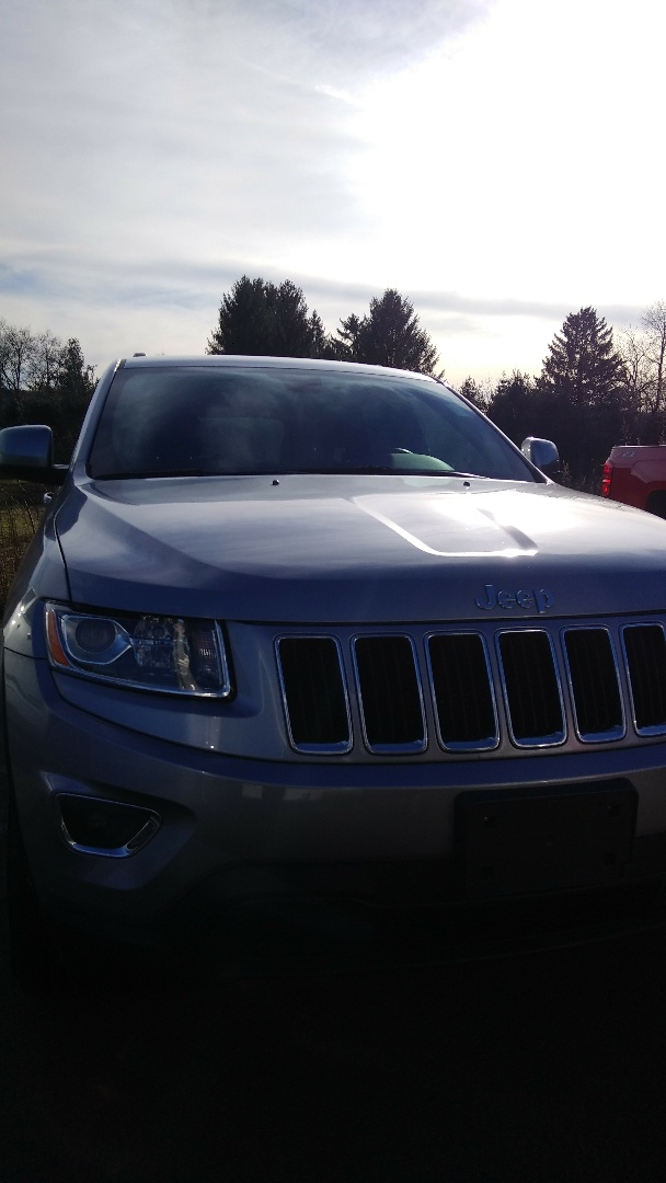 Brodheadsville, PA - Replaced windshield on Jeep Grand Cherokee for Brodeheadsville Chevrolet
