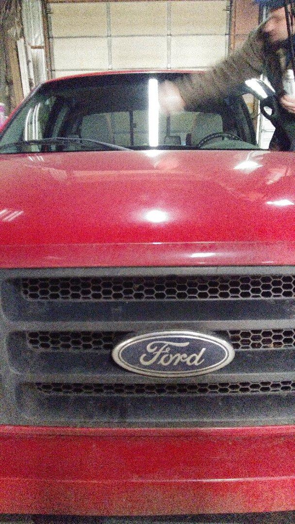 Replaced windshield for Stone Ridge Landscaping on a Ford F150 for the exact price quoted