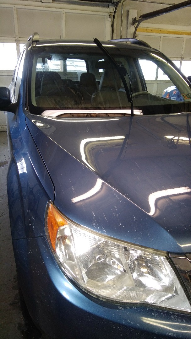 Replaced windshield on Subaru Forester for a customer in the shop at the exact price quoted