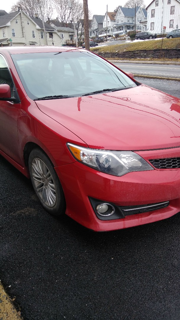 Lehighton, PA - Replaced windshield on Toyota Camry for a customer in the shop and processed the claim through Progressive Insurance