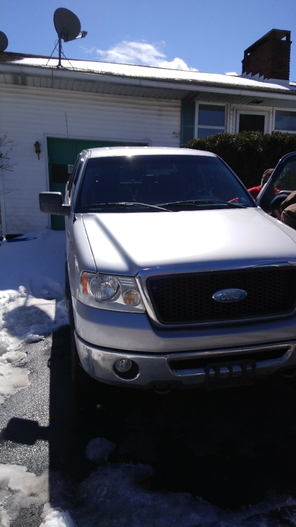 Replaced windshield on Ford F150 for a customer at his work at the exact price quoted