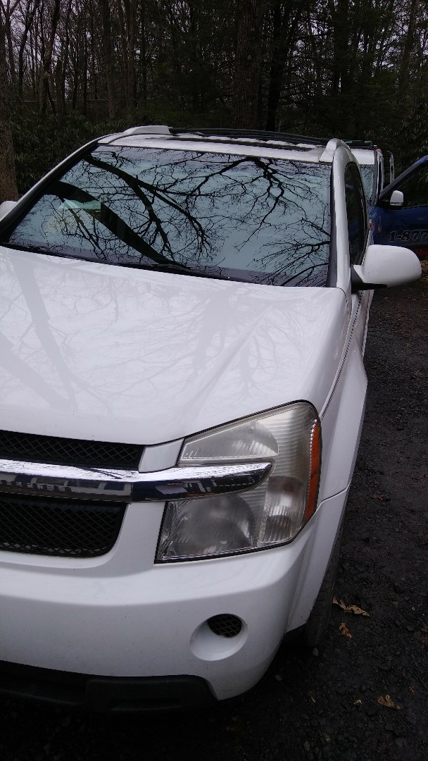 Kunkletown, PA - Replaced windshield on Chevy Equinox for a customer at her home for the exact price quoted